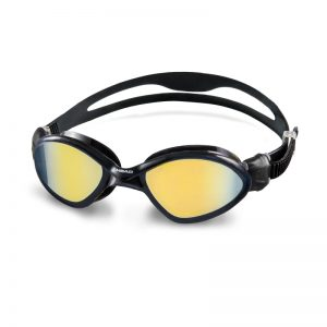 Tiger Mid Mirrored Goggle ADULT, Black Smoke