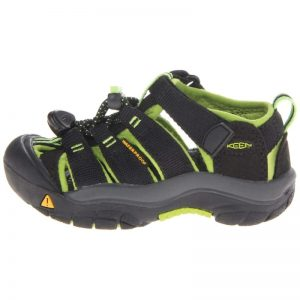 Newport H2 Kids US9 / EU25/26, Black/Lime Green