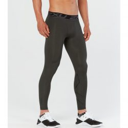 2XU Accelerate Print Compression Tights M Duffel Camo/Nero