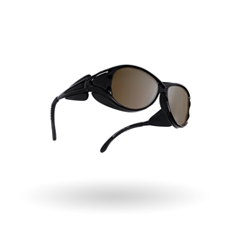 Bliz Altitude, Black/Brown Polarized with gold mirror