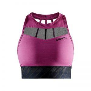 Women's Charge Cropped Mesh Singlet