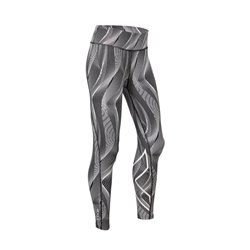 2Xu Mid Rise Print Compression Tights-W