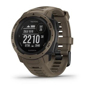 Garmin Instinct® – Tactical Edition Coyote Tan WW